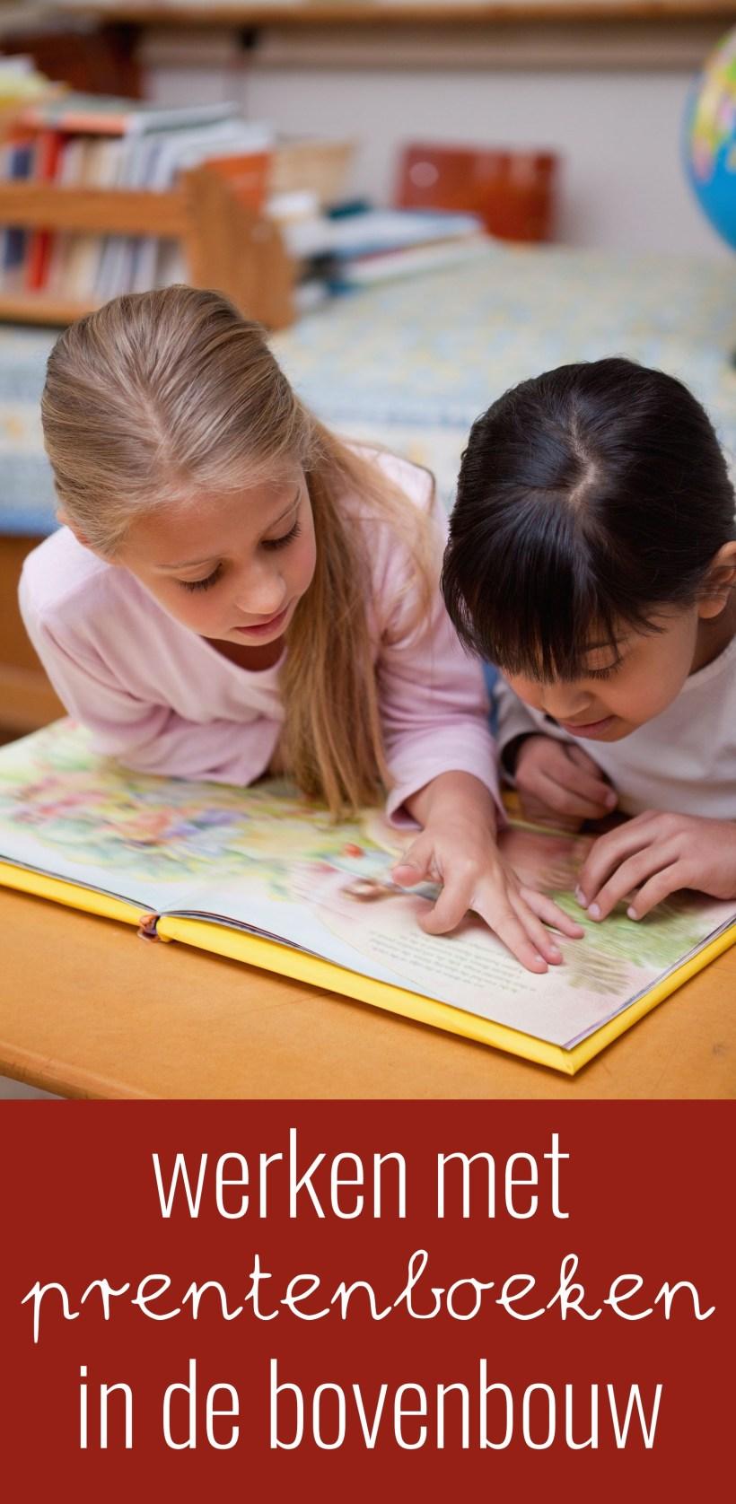 Werken met prentenboeken in de bovenbouw