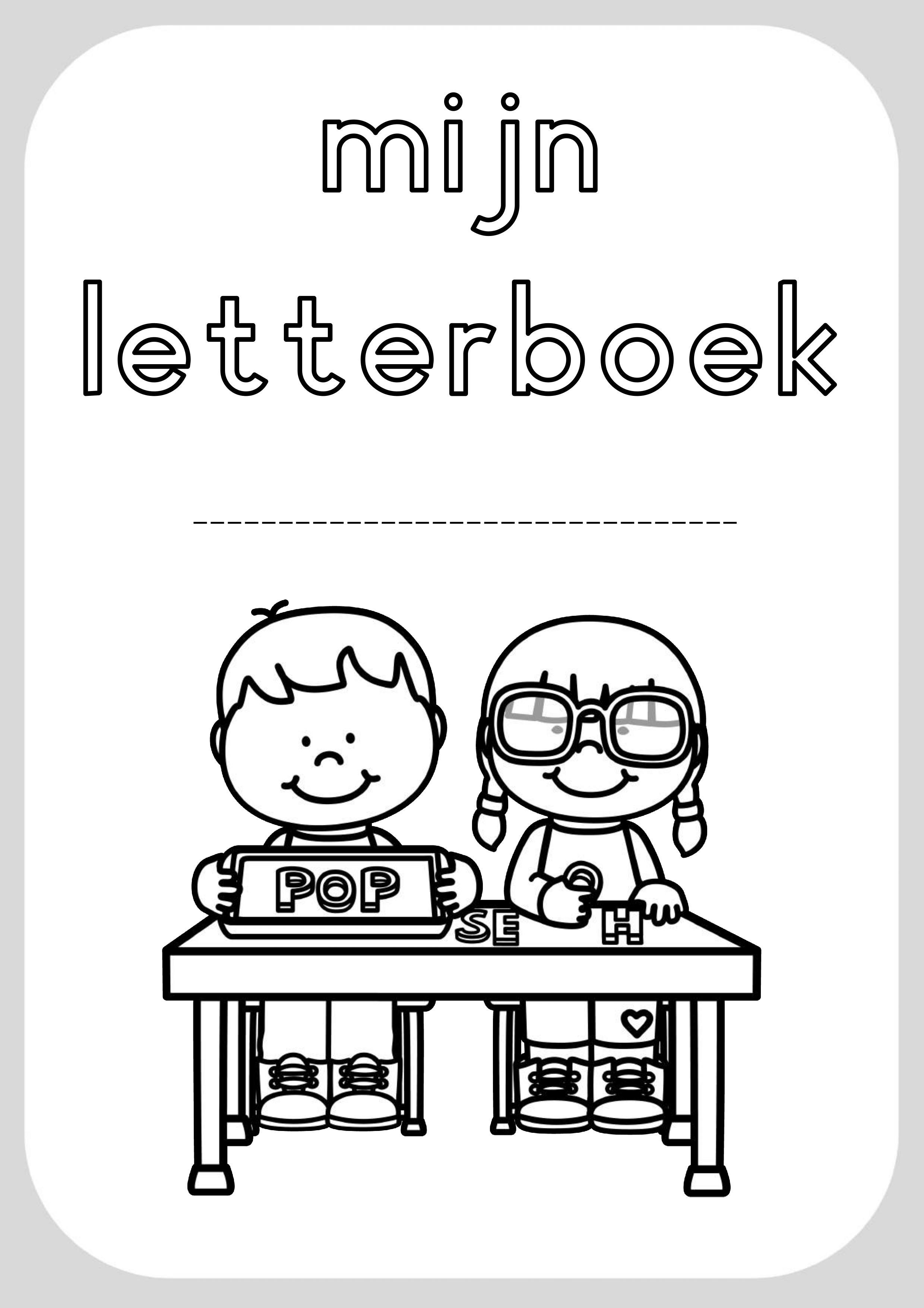 letterboek klas juf