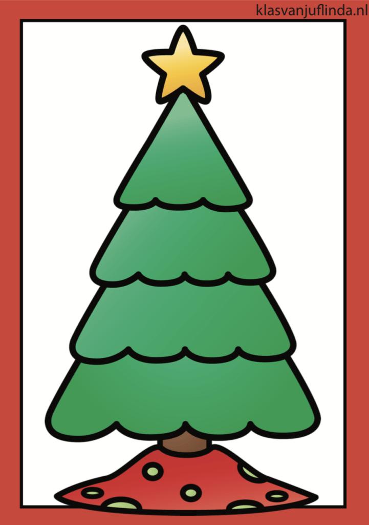 Kerstspel klanken oefenen