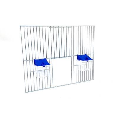 Front dobudowy klatek dla ptaków 40x30 zpoidełkiem