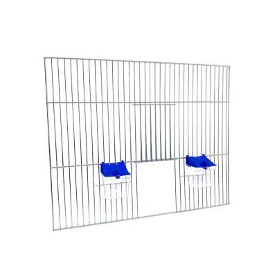 Front dobudowy klatek dla ptaków 50x40 zpoidełkami