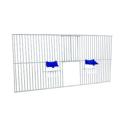 Front dobudowy klatek dla ptaków 60x30 zpoidełkami