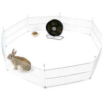 Kojec dla królika, świnki morskiej lub innego gryzonia - 8 elementowy