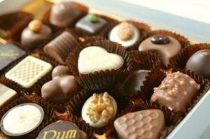 chocolate pralinès
