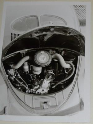 Käfer mit Motor aus dem Porsche 356