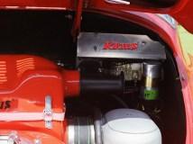 Motorraumelektrik Porsche 356 C mit KLAUS Typ 4 Motor