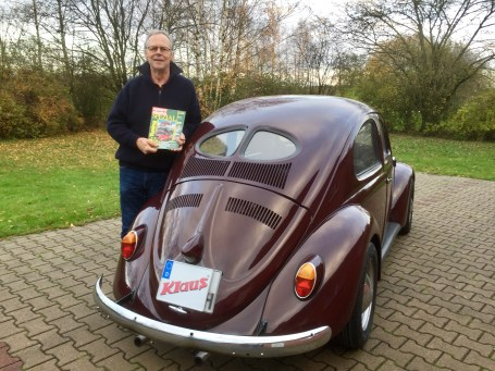 Rolf Klaus Brezelkäfer mit Typ 4 Motor