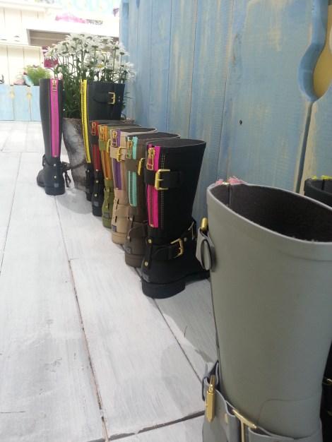 Rainboots, Colors of California