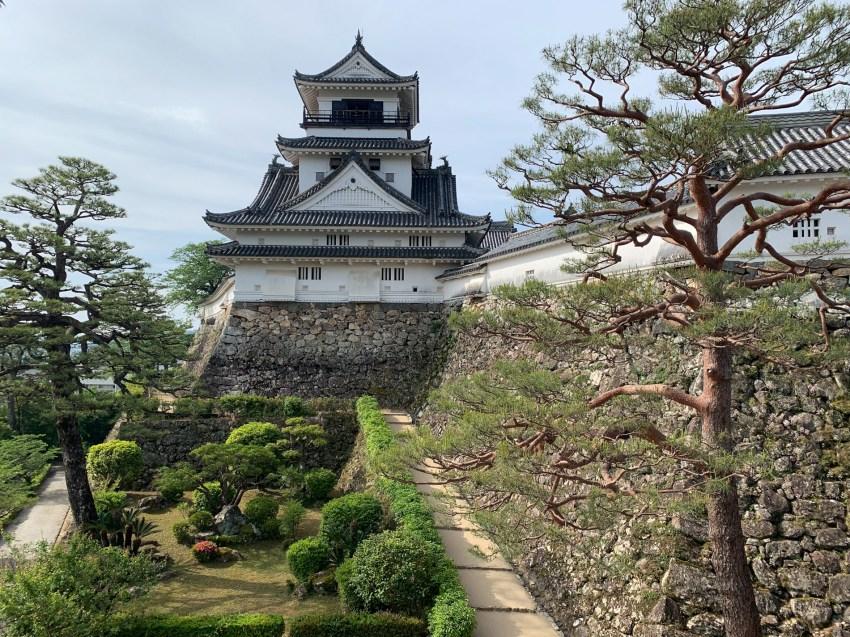 Visiting Kōchi Castle, one of twelve intact castles in Japan