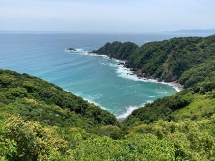 Dramatic seaside views from the Skyline Road on the Yokonami peninsula.