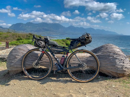 Taking in the views along the east coast. Jialulan, Taitung County.