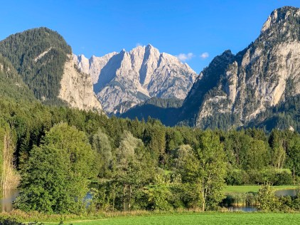 Overnight stop at Gesäuse National Park in the state of Styria