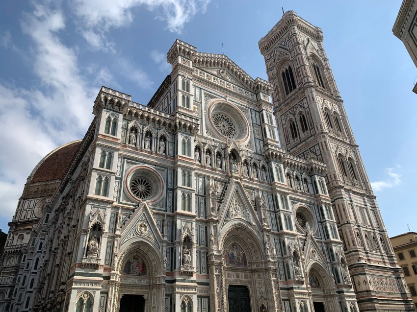 Marveling at some of the Renaissance-era attractions in Florence before commencing my trip through Tuscany