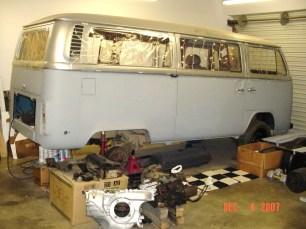 `73 VW Bus In-da-Shop