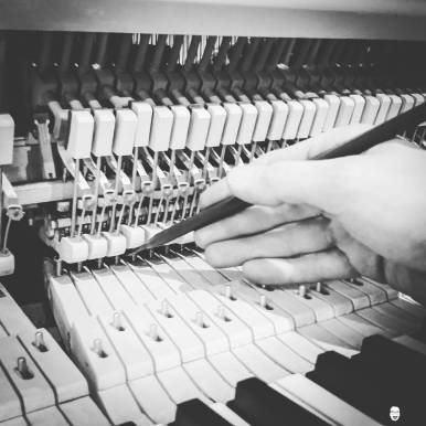 Piano renovation final steps