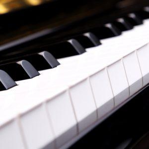 Tastatur Nahaufnahme Kunststofftasten