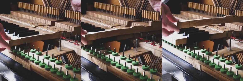 Klaviertasten ausbauen