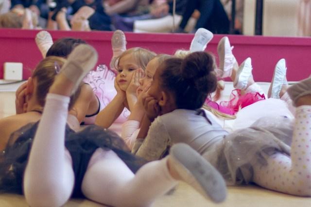 Hilma på balett