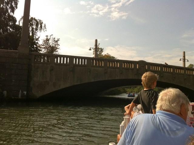En tur på kanalen