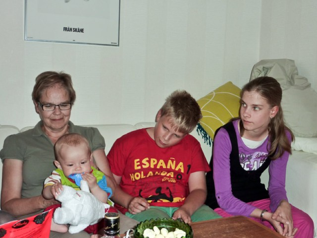 Min fina finska familj var på besök i Malmö