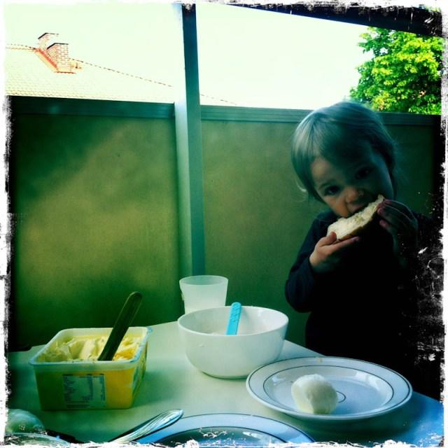 Frukost på balokongen