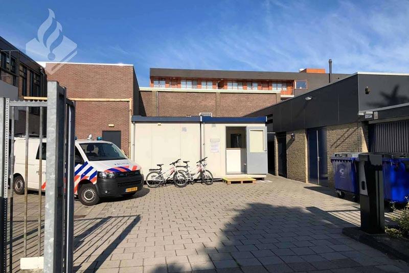 Tijdelijk-bureau-politie-Klazienaveen