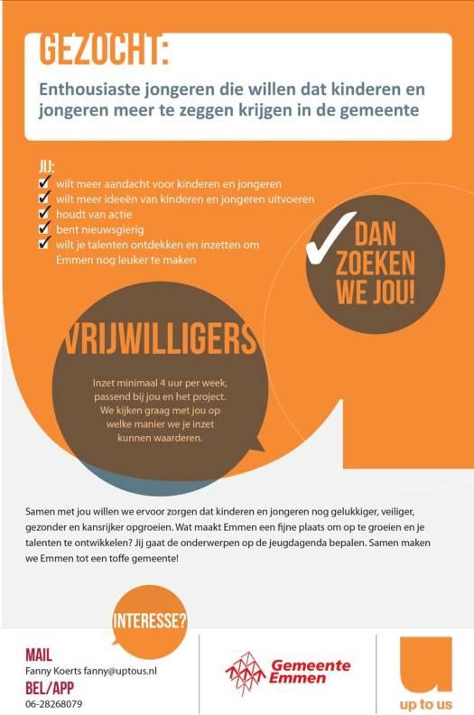 Emmen-vacature-vrijwilliger