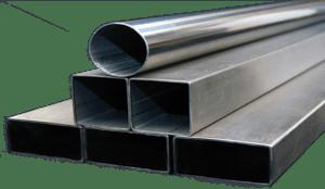 Round and rectangular tubing