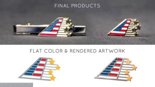 Pin & Tie Clasp | American Airlines x Snowball Express