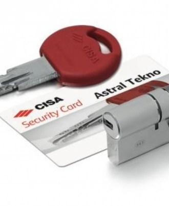 Κλειδαριά πόρτας ασφαλείας CISA Astral-Tekno