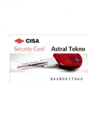 Κύλινδρος - αφαλός ασφαλείας CISA ASTRAL TENKO 1