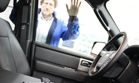 Κλειδώθηκα έξω από το αμάξι!