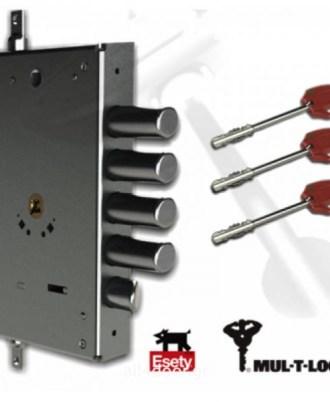 Κλειδαριά πόρτας ασφαλείας Νέου τύπου (Omega Plus) multlock-041