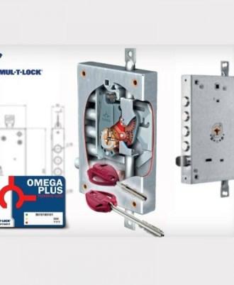 n Κλειδαριά πόρτας ασφαλείας Νέου τύπου (Omega Plus) multlock-053