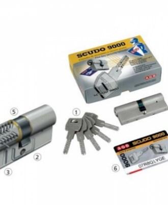 Κλειδαριά πόρτας ασφαλείας CISA scudo-9000