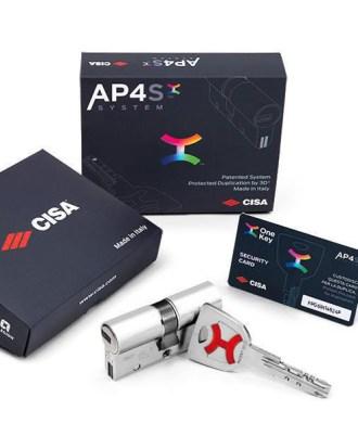 Κύλινδρος ασφαλείας CISA AP4S
