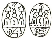 kopengagen, silver, marks