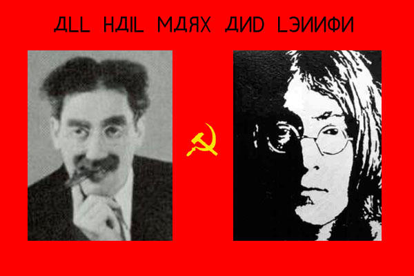 marx and lennon