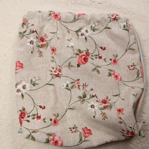 gymtas rugtas roze bloemen