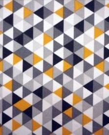 triangel geel, grijs, zwart