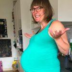 41 weken en 4 dagen zwanger