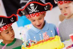 budget kinderfeestje piraten thema