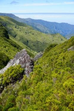 Blick vom Levada-Weg ins Tal