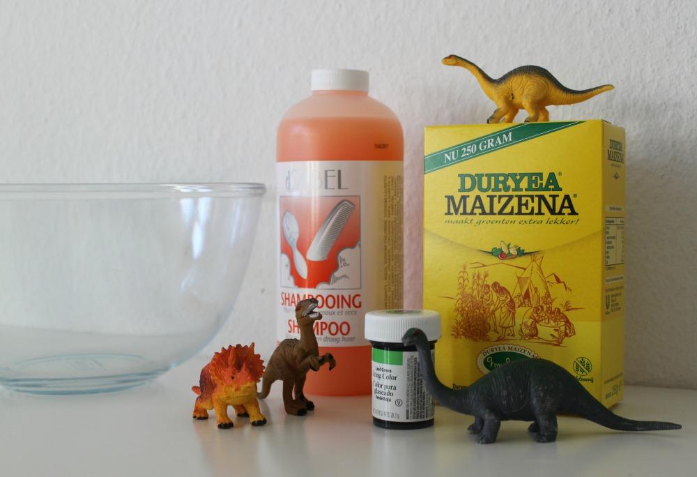 Dinosaurusslijm maken