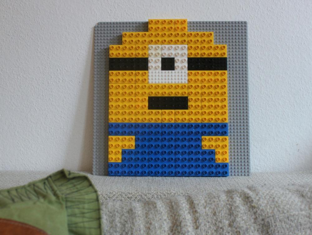 Duplo en Lego combineren + 2D Minion
