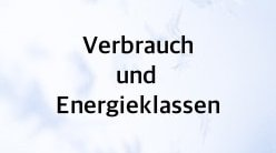 verbrauch und energieeffizienzklasse