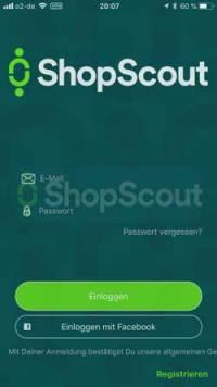 ShopScout-Login  Microjobbing –  €463,10 in 22,5 Stunden ShopScout Login 200x356
