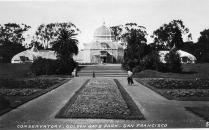 37 Conservatory Golden gate Park San Francisco (vorderseite)