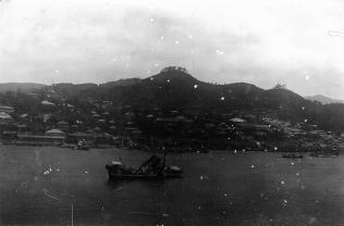 Hafen von Nagasaki