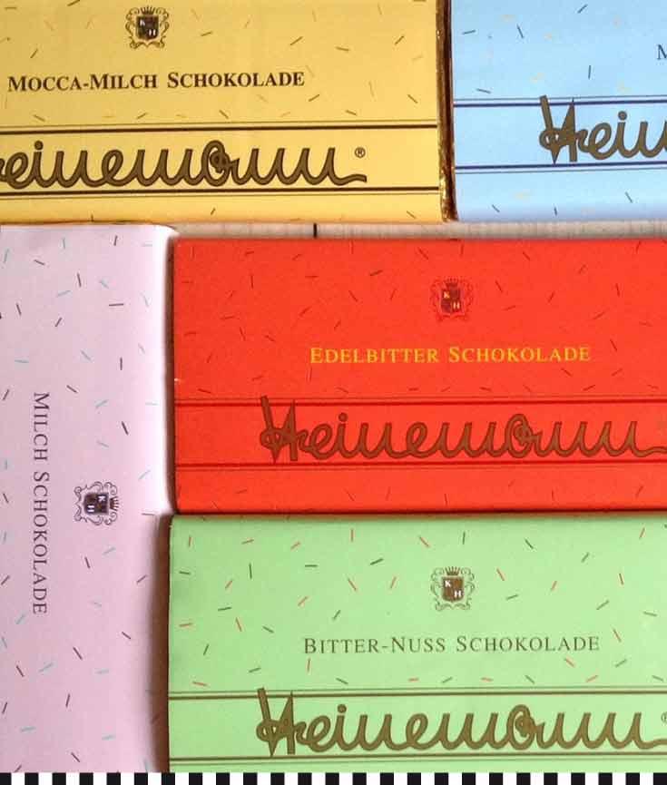 Vielfalt feinster Schokolade von Heinemann